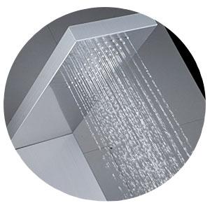 ducha de baño auralum