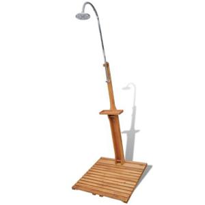 ducha festnight de madera