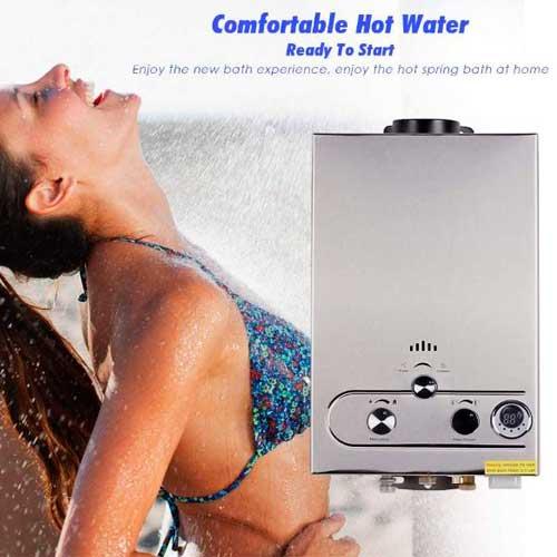 El Mejor calentador de agua a gas Idabay